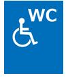 車いす利用可能トイレあり