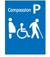 障がい者・高齢者、妊産婦優先駐車場あり